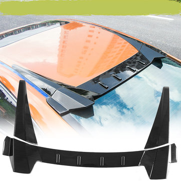 Carbon Fiber Type R Rear Roof Car Wing Diffuser Window Trunk Spoiler For Honda Civic 4 Door Sedan 2016-2018