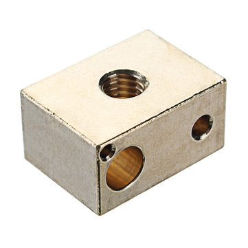 Hot End Heating Block for 3D Printer High Temperature Copper Material
