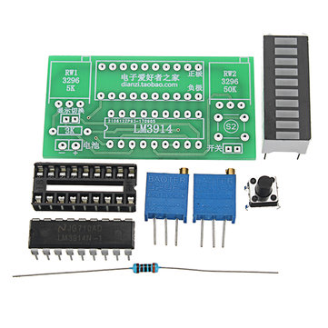 5pcs LED Power Indicator Kit DIY Battery Tester Module For 2.4-20V Battery