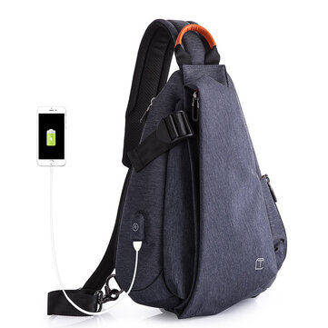 Tangcool TC901 20-35L Oxford Cloth Chest Pack Bag Leisure Waterproof Cycling Small Backpack