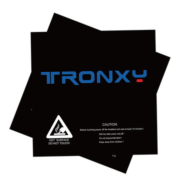 5Pcs TRONXY® 210*200mm Scrub Surface Hot Bed Sticker For 3D Printer