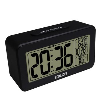 BALDR® Smart Alarm Clock With Snooze Backlight Temperature Display Date Calendar Clock