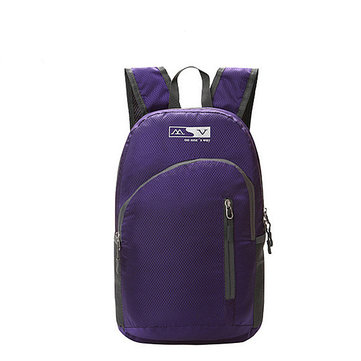 Women Men Multifunction Waterproof Light Weight Nylon Outdooors Sport Folding Backpack 6 Color