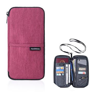 Travel Multi-slots Passport Holder Organizer Cover Card Bag Passport Bag Phone Storage Bag