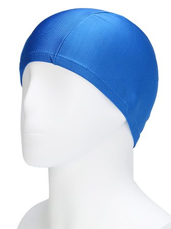 Cozy Waterproof Soft Printed Stretchy Milk Lycra Swimming Cap