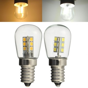 E14 3W SMD3014 LED Fridge Refrigerator Corn Light Bulb Pendant Crystal Chandelier Spotlight 220V