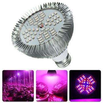 12W E27 Full Spectrum LED Hydroponic Plant Grow Light Bulb Indoor Growing Lamp