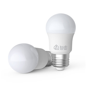 Xiaomi Mijia Zhirui E27 5W 500LM White LED Globe Light Bulb for Indoor Home Ceiling Lamp AC220V