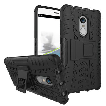 Hybrid Shockproof TPU+PC Armor Stand Holder Back Case Cover For Xiaomi Redmi Note 4