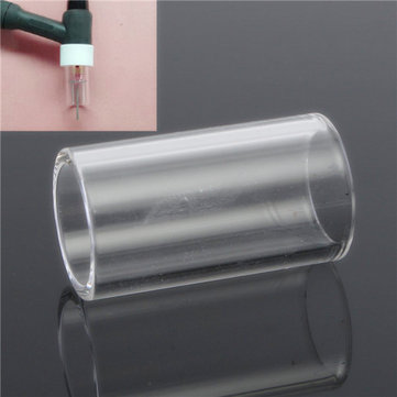 32x18mm TIG Welding Heat-resistant Cup Torches Lens For 0.040 3/32 1/16 1/8 Inch