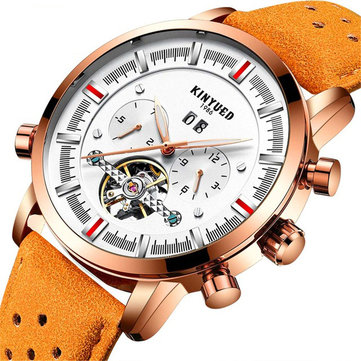 KINYUED JYD-J019 Calendar Casual Style Mechanical Watches