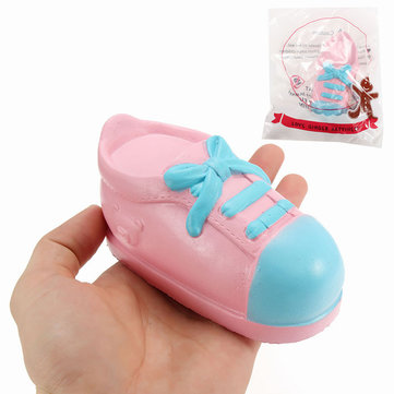 Squishy Shoe 13cm Slow Rising With Packaging Collection Gift Decor Soft Squeeze Toy
