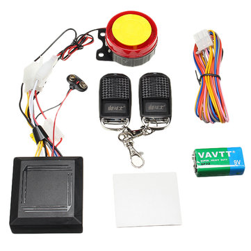 Universal 125cc Motorcycle Anti Theft Alarm Anti-cut Line System With Remote