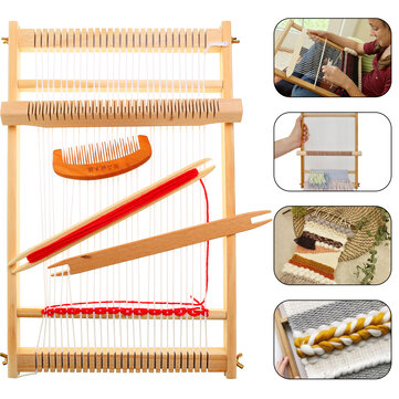 ₹1,582.57DIY Traditional Wooden Weaving Loom Machine Pretend Play Toys Kids Knitting CraftHardware & AccessoriesfromTools, Industrial & Scientificon banggood.com