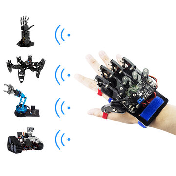 Open Source Arduino UNO Somatosensory Wearable Robot Gloves