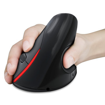 HXSJ A889 2.4GHz Wireless Rechargeable Vertical Gaming Mouse Ergonomic Design 2400DPI Mice