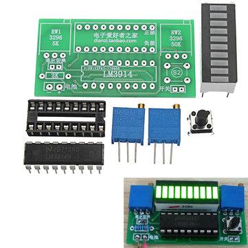 LED Power Indicator Kit DIY Battery Tester Module For 2.4-20V Battery