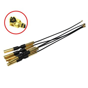 2.4G 5.8G Dual Frequency 3dBi Gain IPEX Copper Tube Antenna 15cm For FPV VTX RC Drone Transmitter