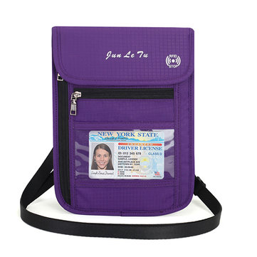 RFID Blocking Travel Passport Holder