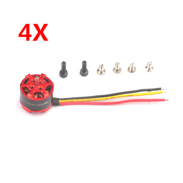 4X Eachine Upgrade Motor 1104 6500KV Brushless Motor 1-3S For Eachine Aurora 90 100 RC Drone FPV Racing