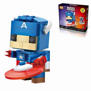 LOZ 1401 Super Hero Toy 142PCs Diamond DIY Building Blocks Collection Gift Small Bricks