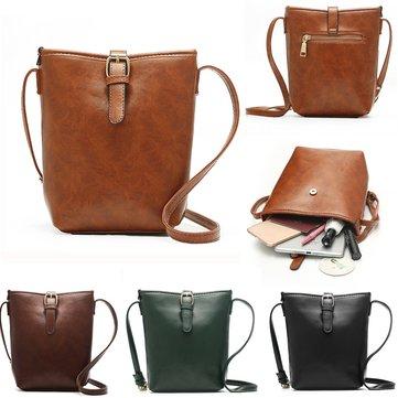 Women Casual Vintage Bucket Bag Crossboby Bag Light Weight Beach Bag
