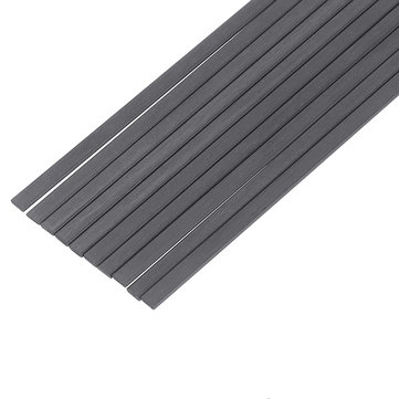 US$4.29 10Pcs/Set 200mm Square Carbon Fiber Rods Strips Carbon Fiber Square Bars Matt Surface RC Airplane DIY Tool Raw Materials from Tools, Industrial & Scientific on banggood.com
