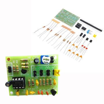 DIY NE555 Multichannel Waveform Generator Kit Electronic System Training Starter Kits