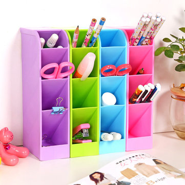 Candy Color Desktop Storage Box Kitchen Drawer Multifunctional Storage Basket Home Sundry Organizer