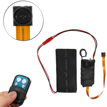 S01 Mini HD 1080P Wireless Camera Module Screw Camcorder with Remote Control