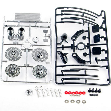 1/10 RC Racing On Road Drift Model Car Dummy Brake Disc Kit RC Car Accessories Part 025073