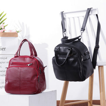 Leisure Wild Multipurpose Backpack Shoulder Bag Handbag For Women
