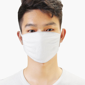 Workers Cotton Mask White Elastic Knitted Anti-dust Construction Workers Filter