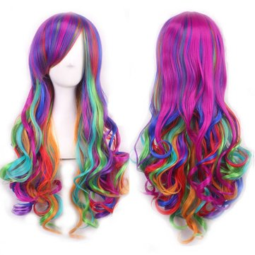 Long Curly Full Cosplay Wig