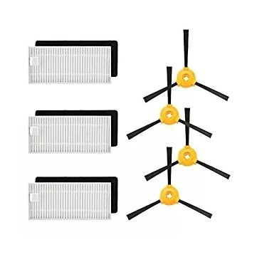 Filter Brushes Accessory Kit Robot Vacuum Cleaner Part For Deebot N79s N79 3 Filters 4 Side Brushes