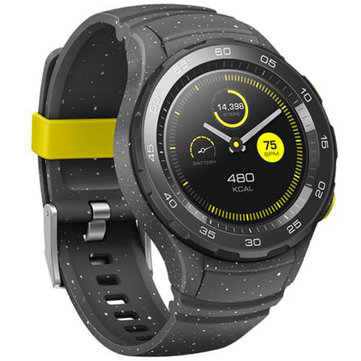 Huawei Watch 2 Bluetooth Version Bluetooth Call Dynamic Heart Rate NFC GPS IP68 8 Sports Mode Smart Watch