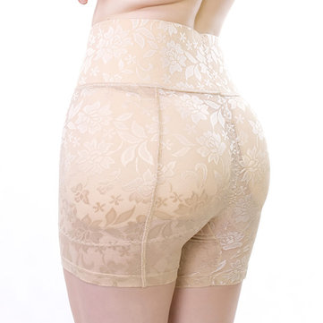 Jacquard Hip Lifting High Waisted Stretchy Shapewear