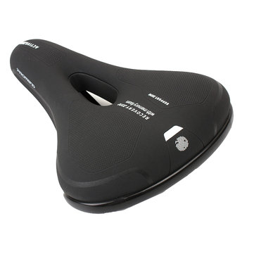 PROMOND SD-592 Thicken Wide Bike Saddle Seat MTB Cushion Sponge Soft Cycling Saddle
