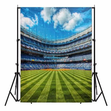 5X7ft Sport Stadium Scenic Photography Background Backdrop Studio Photo Prop