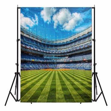5X7ft Sport Stadium Scenic Photography Background Backdrop Studio Photo Prop