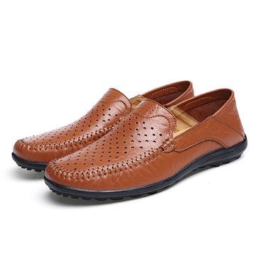USРазмер6.5-11.5МужскаяодеждаПовседневная На открытом воздухе Кожаная обувь для полых выкладок