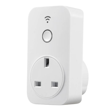 Broadlink SP2 UK 13A 250V Timer 2.4G Smart WiFi Socket Plug Outlet Remote Control For IOS Android