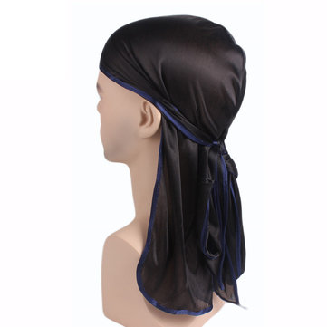 Nylon Plain Bandage Pirate Headwrap Sunscreen Bandana Hat