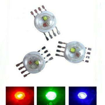 5pcs 3W RGB RGBW High Power 8pin LED Diodes Blub DIY Chip Light DC2.2-3.4V