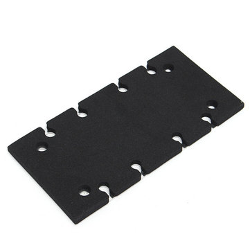 Sander Base Plate Backing Pad for Makita BO3700 BO3710 BO3711 Sander Spare Part
