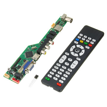 Geekcreit® V56 Universal LCD TV Controller Driver Board PC/VGA/HD/USB Interface