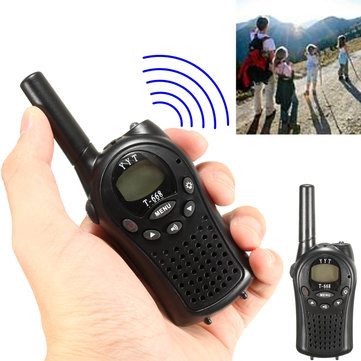 Mini Wireless Walkie Talkie Handheld Radio Interphone 400-470MHz 22CH Children