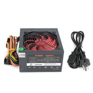 110V-230V 12cm Fan ATX Power Supply Fan 24 Pin PCI SATA ATX 12V Molex Connect 80+ Gold