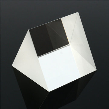 50x50x50mm Glass Equilateral Prism Optical Experiment Dispersion