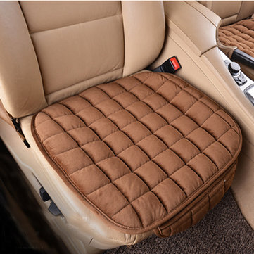 Lattice Style Breathable Anti-slip Car Front Seat Cushion Protector Cover Chair Mat Cotton Pad
